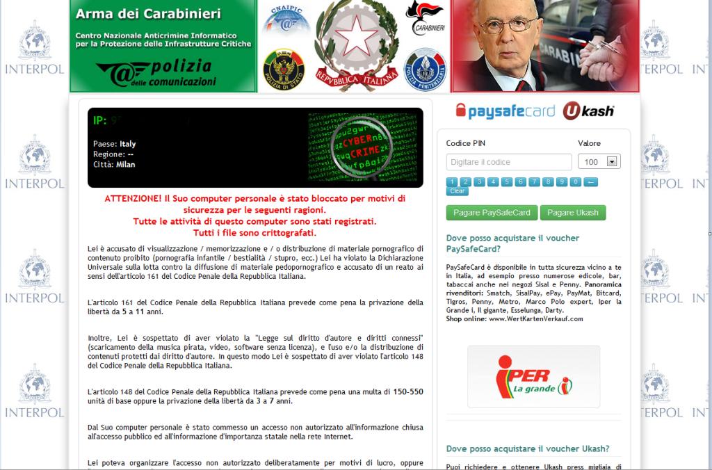 truffa-arma-carabinieri--polizia-virus