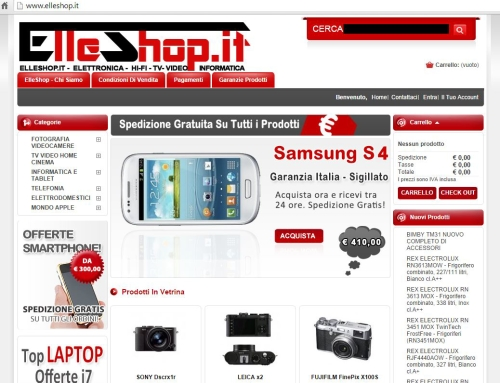 Truffa E-commerce Elleshop.it