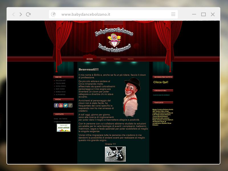 Baby Dance Bolzano   Animazione Spettacoli Clown Magia Bolzano e Trento2